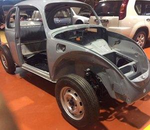 Restoration of VW Beetle