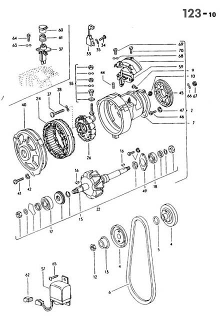 Vw Motorola Alternator Wiring Diagram : 37 Wiring Diagram