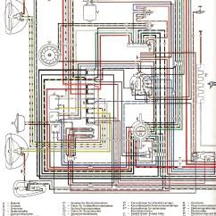 1967 Volkswagen Wiring Diagram Home Theater Hdmi Käfer-schaltpläne