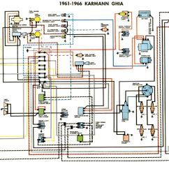 1967 Volkswagen Wiring Diagram 2017 Chevy Sonic Radio Karmann Ghia-schaltpläne