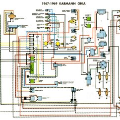 Vw 1600 Wiring Diagram Cadet Thermostat Karmann Ghia-schaltpläne