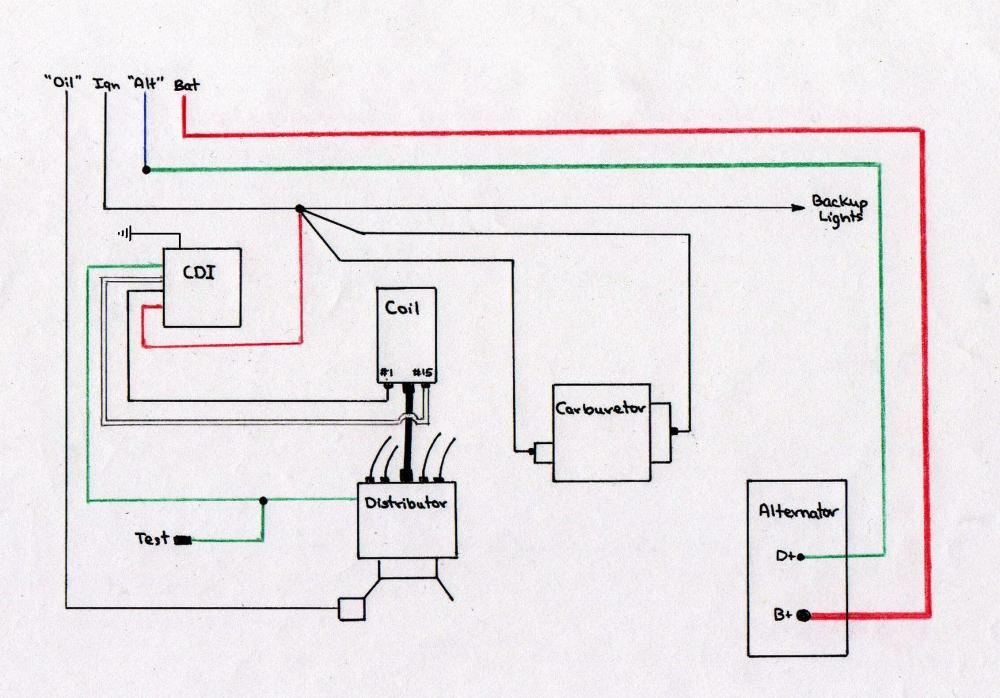medium resolution of vw ignition wiring wiring diagram 1970 vw coil amp dist wiring diagram