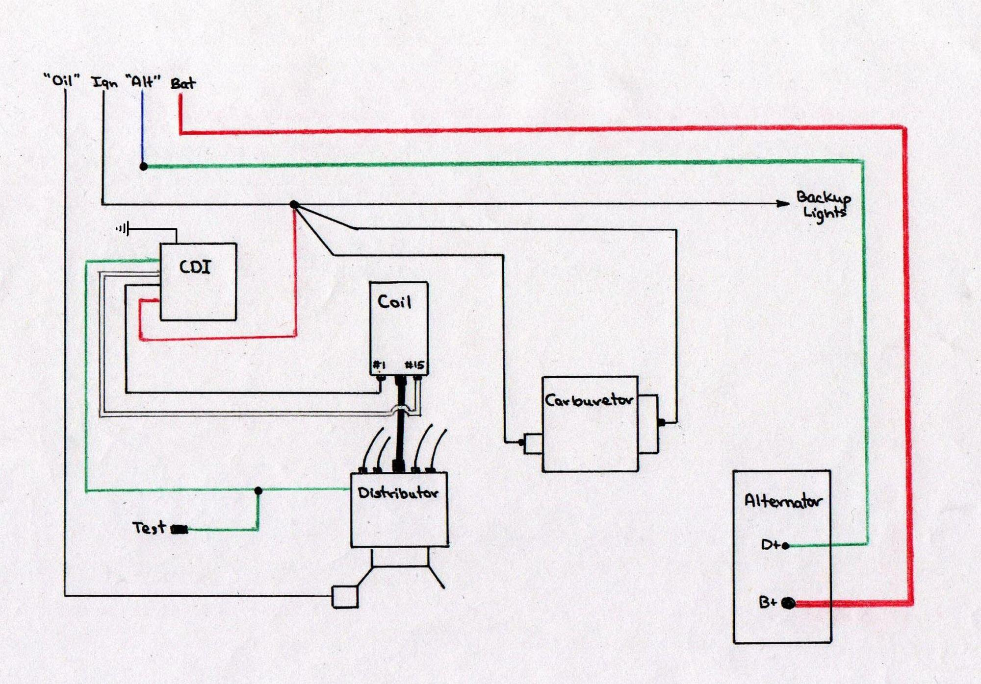 hight resolution of vw ignition wiring wiring diagram 1970 vw coil amp dist wiring diagram