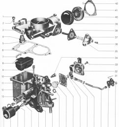 a general exploded view of the 34pict 3 carburetor is shown in the following diagram following that is a listing of the parts giving nomenclature and part  [ 1078 x 1234 Pixel ]