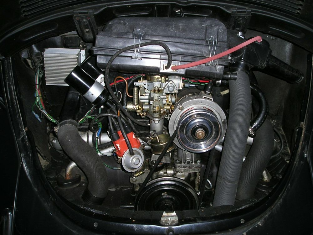 medium resolution of the stock 1973 air cleaner