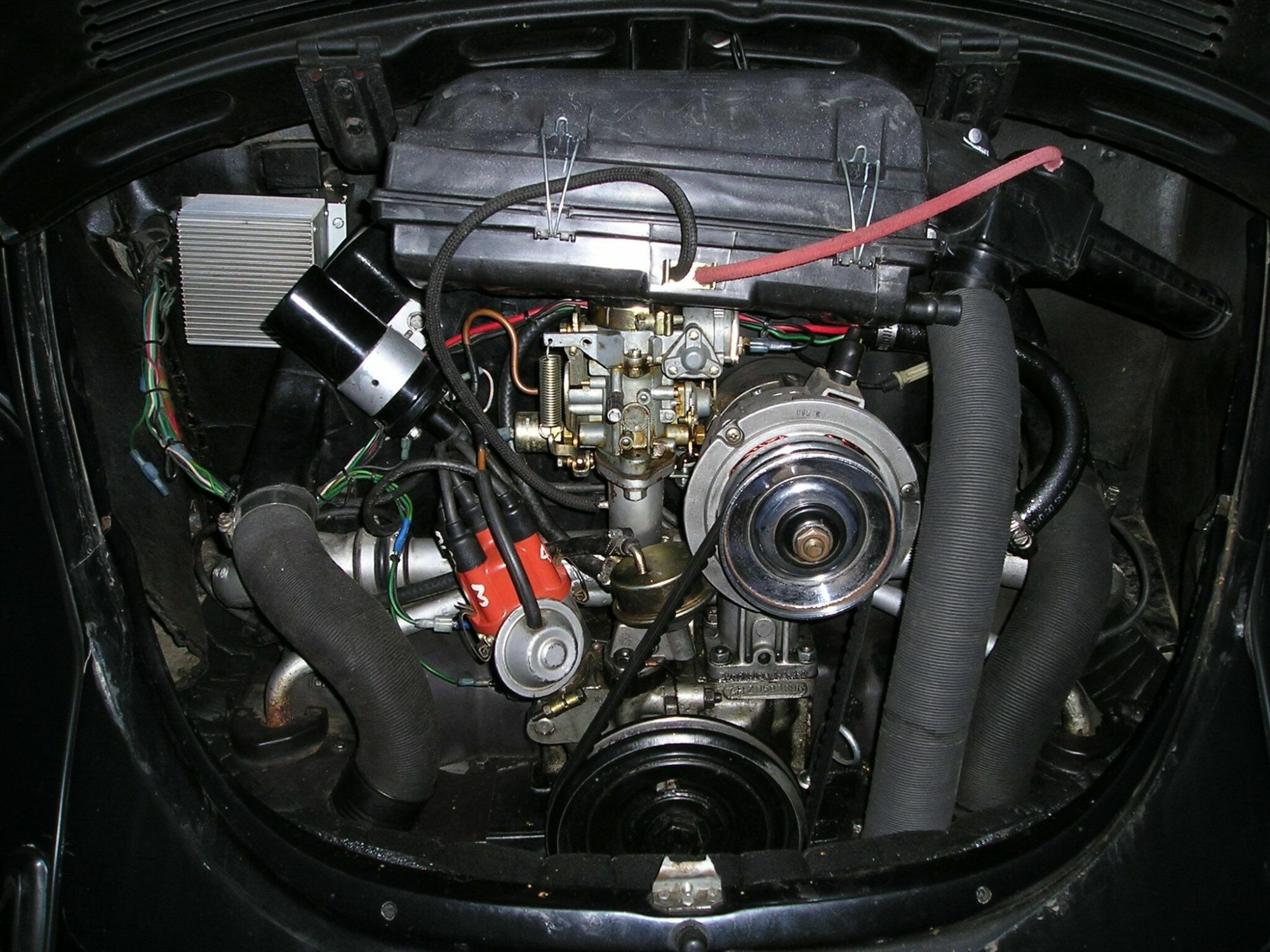 hight resolution of the stock 1973 air cleaner