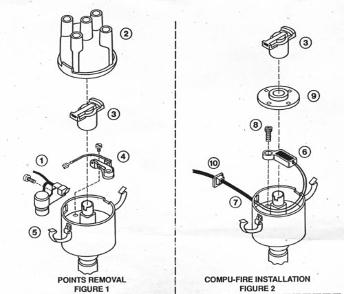small resolution of compufire electronic ignition vw beetle ignition coil wiring diagram moreover vw beetle wiring