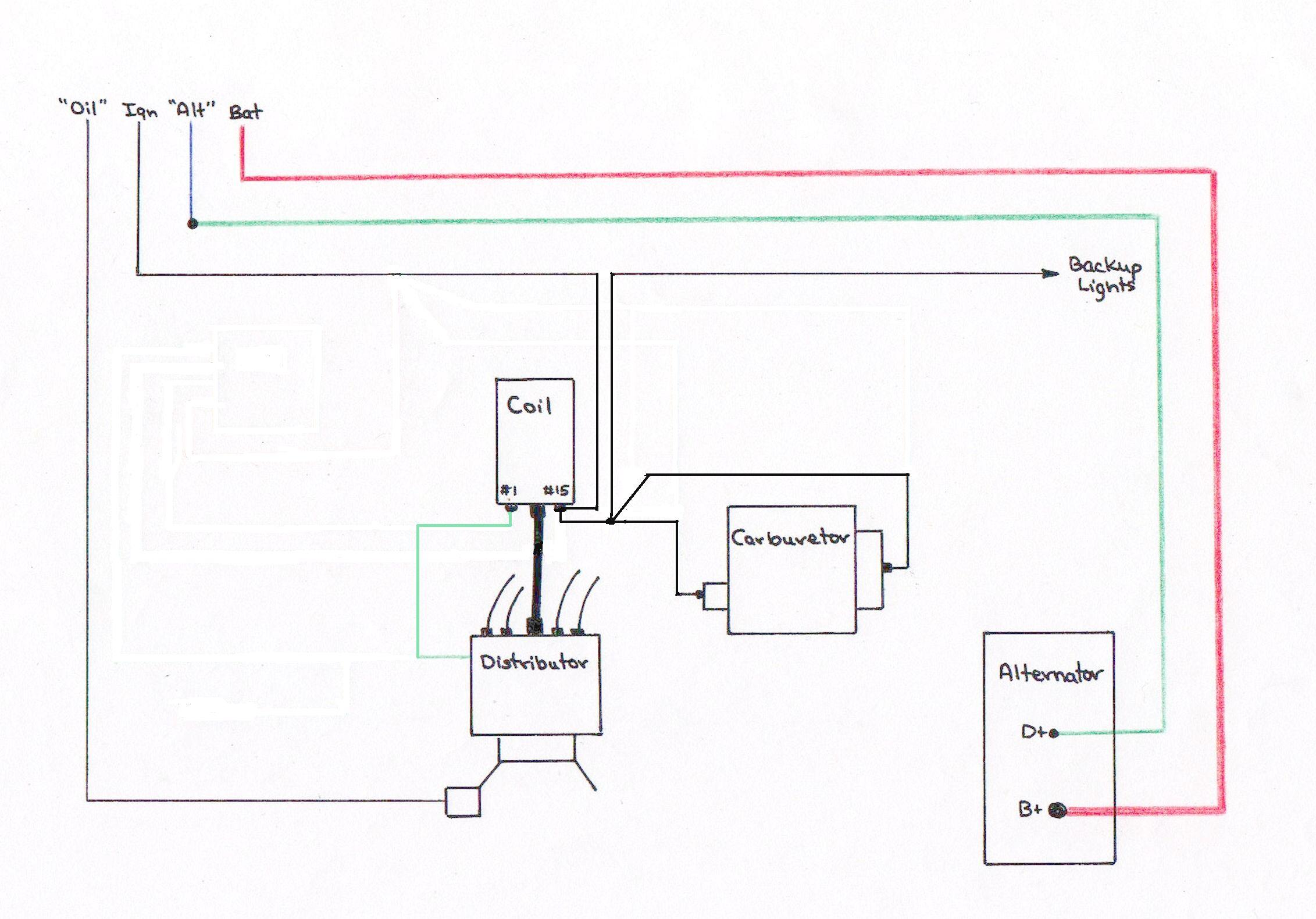 Alternator Wiring Diagram Mopar