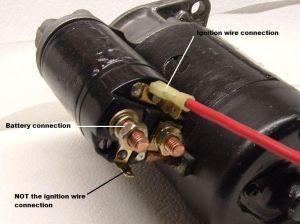VWVortex  Mind Went Blank: Starter Wiring