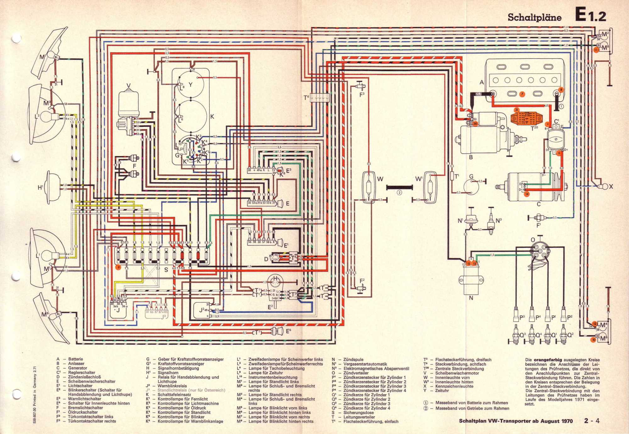 hight resolution of vw bus 1972 wiring diagram vw free engine image for user