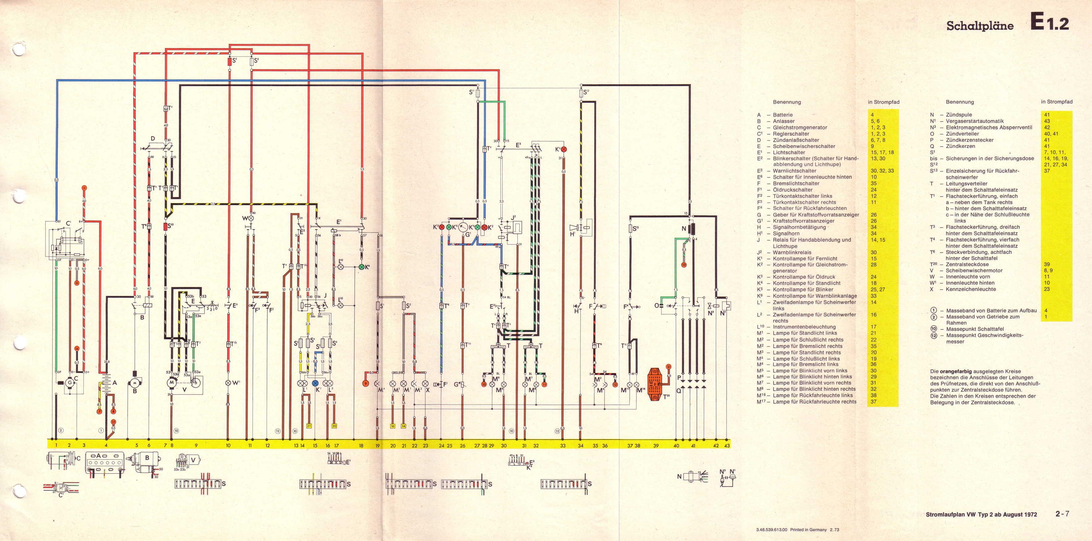 vw t1 wiring diagram honda xr650r vwbusforum ch  thema anzeigen warnblinker