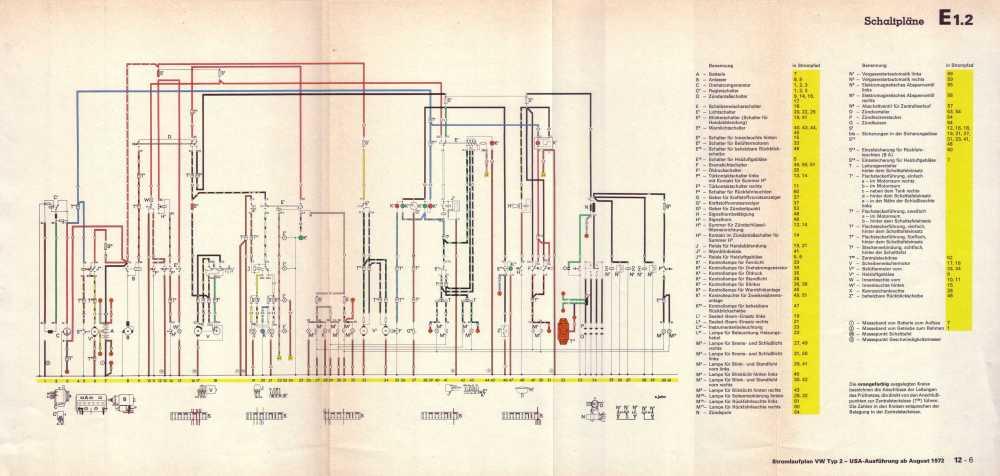 medium resolution of  volkswagen transporter 1 8 l vergasermotor usa ab august 1973
