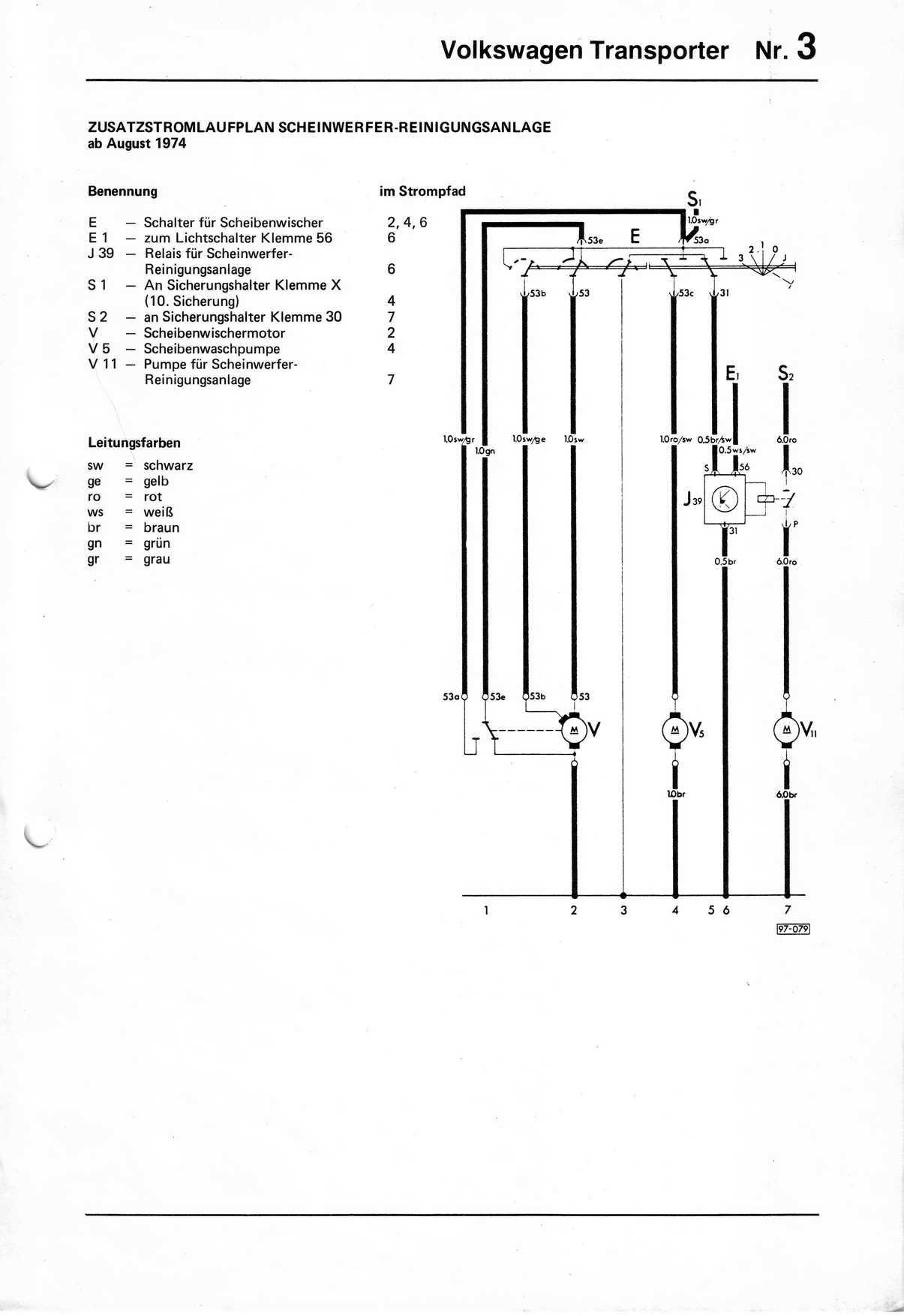 vw t2 1970 wiring diagram 3 way dimmer transporter 1976 free engine