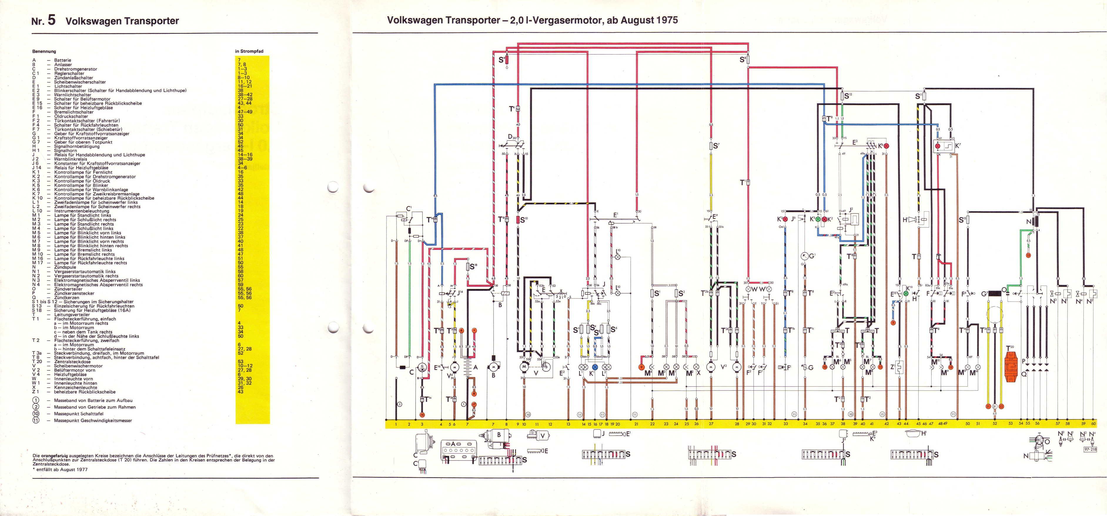 1967 volkswagen wiring diagram honda goldwing 1800 radio baduras t2-bulli seite - stromlaufpläne