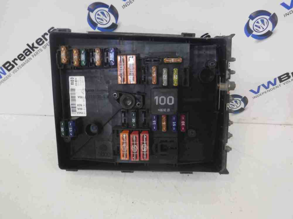 medium resolution of volkswagen golf mk5 2003 2009 engine fuse box 1k0937125a