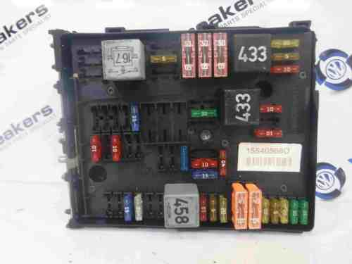 small resolution of volkswagen golf mk5 2003 2009 fuse box 1k0937124h