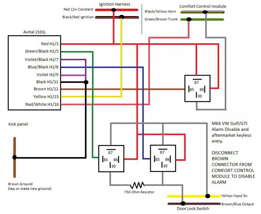 Vw Golf Ignition Module Wiring Diagram