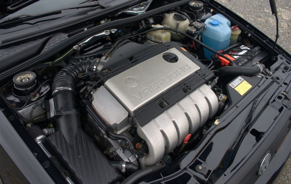 medium resolution of  six cylinder engine for its existing four cylinder passat golf and corrado a suitable engineering solution had to be found to make it fit