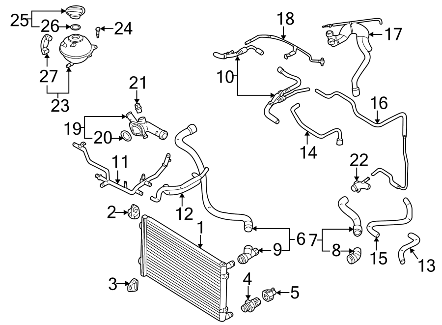[DIAGRAM] Jaguar Xk8 Engine Diagram Engine Radiator Jose