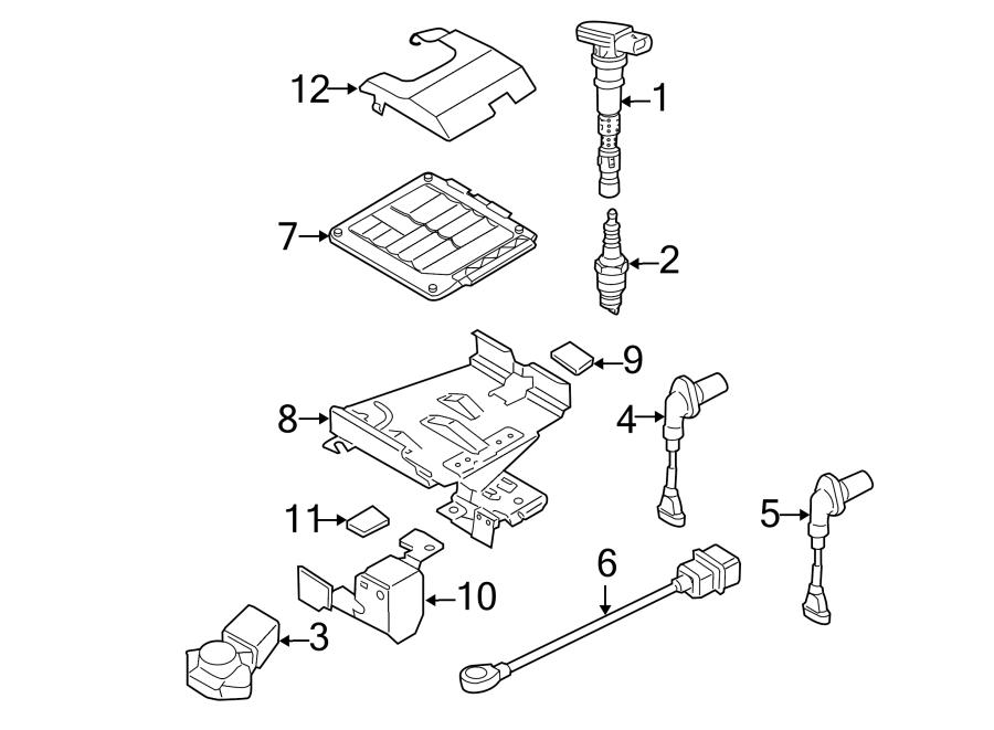 Volkswagen Rabbit Engine Control Module. 2.5 LITER