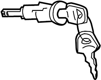 Volkswagen Jetta Cyl & keys. Ignition cyl. Ignition Lock