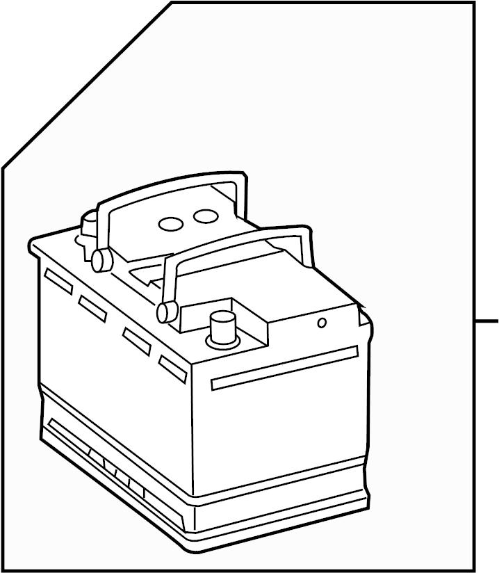 Volkswagen Eos Battery. Power Source. Amp, Hour, LITER