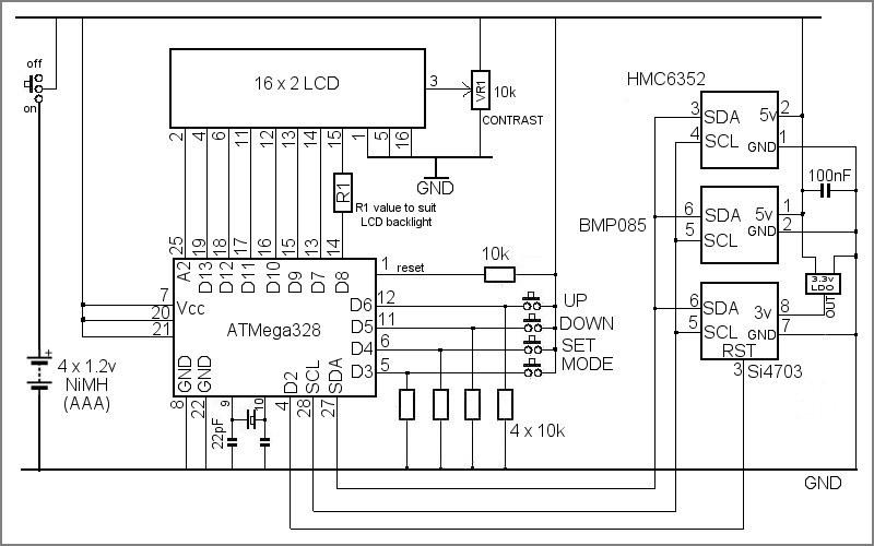 circuit of radio