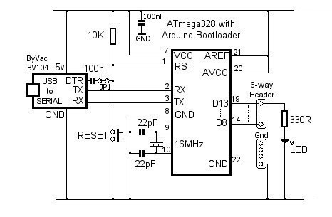 usb to serial port wiring diagram yamaha golf cart gas stand-alone arduino