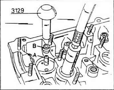 Сборка головки блока цилиндров (Бензиновый двигатель