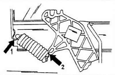 Замена троса сцепления (Трансмиссия / Сцепление