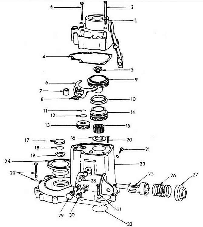 Разборка коробки передач M5 (Трансмиссия / Коробка передач