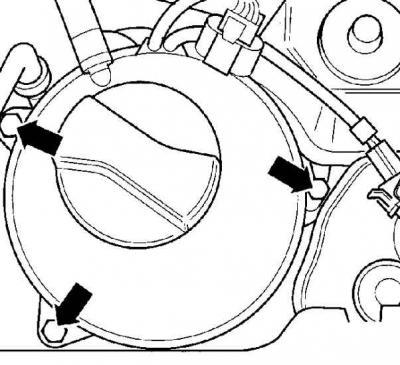 Установка поршня первого цилиндра в ВМТ (Силовой агрегат