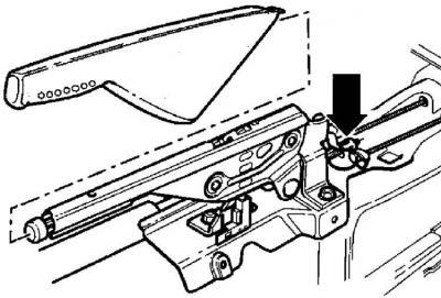 Регулировка ручного тормоза (Шасси / Тормозная система