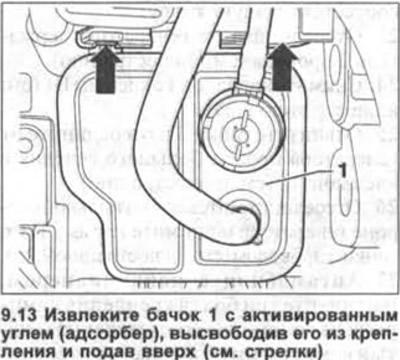 Генератор — снятие и установка (Электрооборудование
