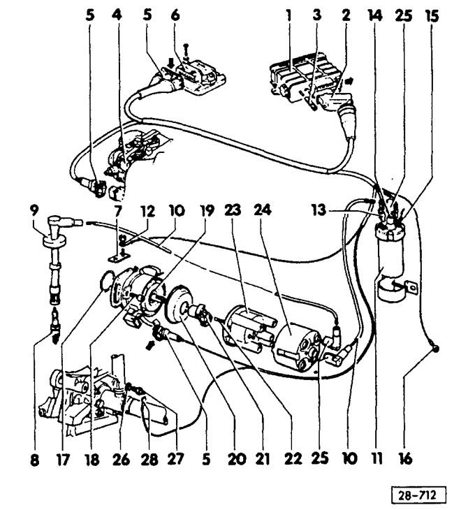 Система зажигания VEZ (Силовой агрегат / Система зажигания