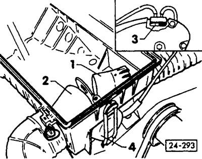 Проверка подогрева впускного воздуха (Силовой агрегат