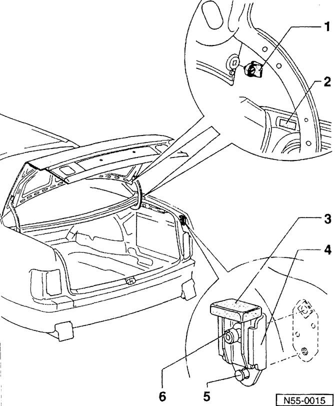 Регулировка крышки багажника (Кузов / Интерьер