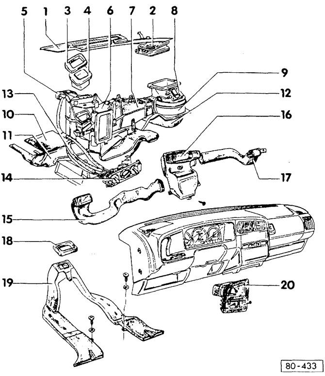 Общие сведения о системе отопления (Кузов / Система