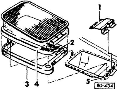 Снятие и установка всасывающего патрубка (Кузов / Система
