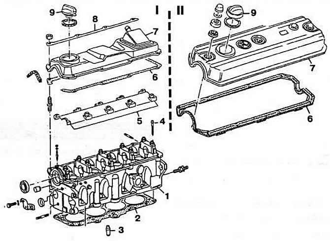 Особенности устройства головки цилиндров (Дизельный