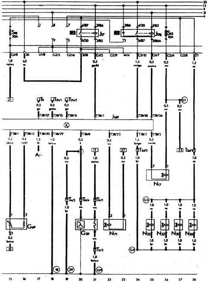 Условные обозначения на схемах электрооборудования