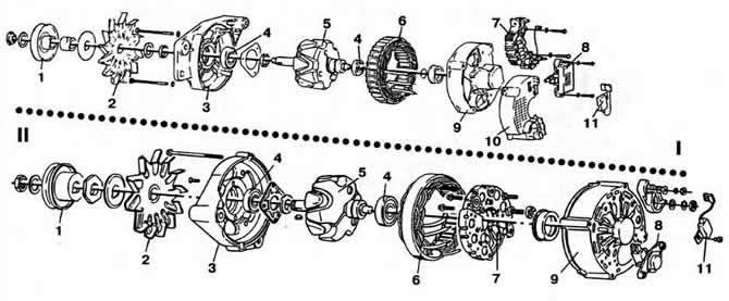 Разборка и сборка генератора (Электрооборудование