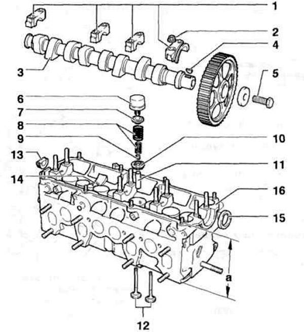 Газораспределительный механизм (Силовой агрегат