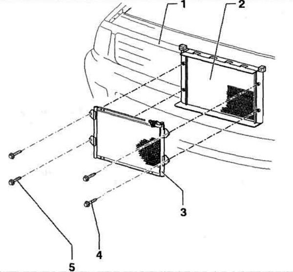 Устройство испарителя и конденсатора (Электрооборудование