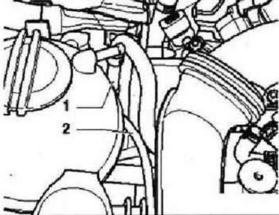 Снятие и установка компрессора (Силовой агрегат