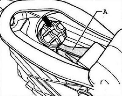 Снятие и установка сервопружины педали сцепления