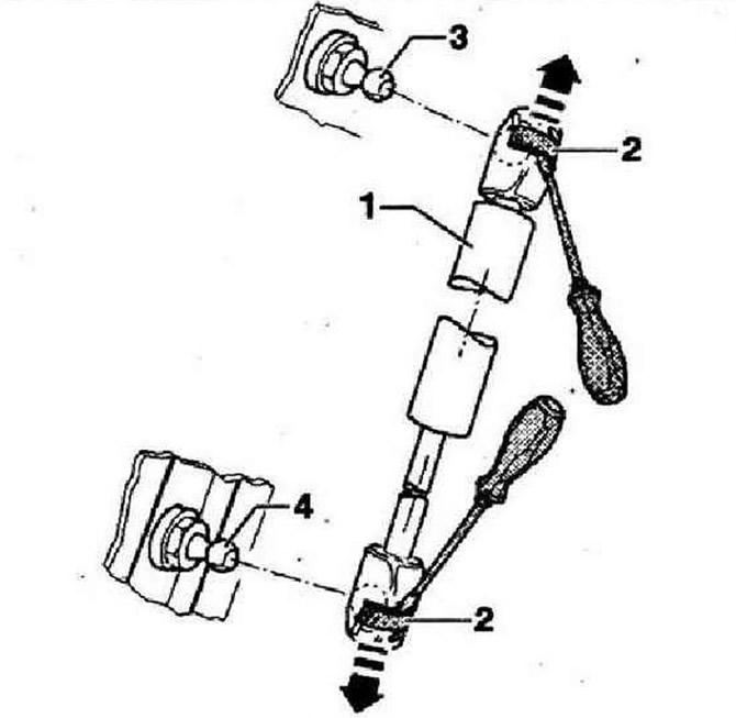 Газовые упоры (Кузов / Внешнее оборудование / Volkswagen