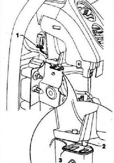 Снятие и установка передней панели (Кузов / Внутреннее