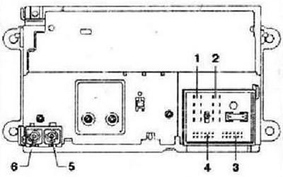Аудиосистема RCD 500 (Электрооборудование