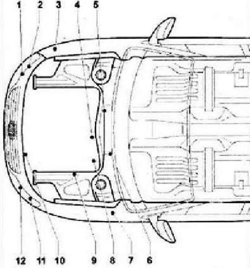 Блоки управления в моторном отсеке (Электрооборудование